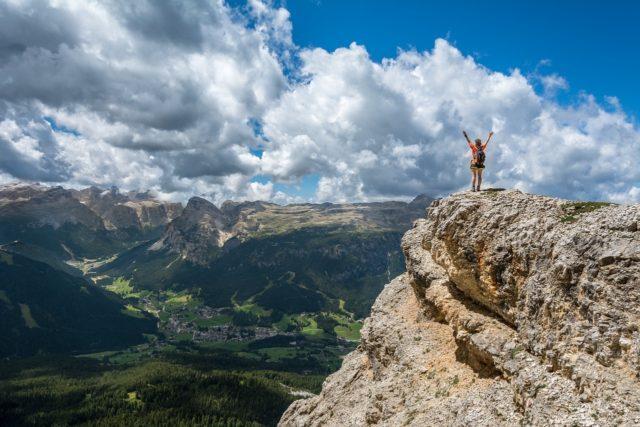 山に登った人